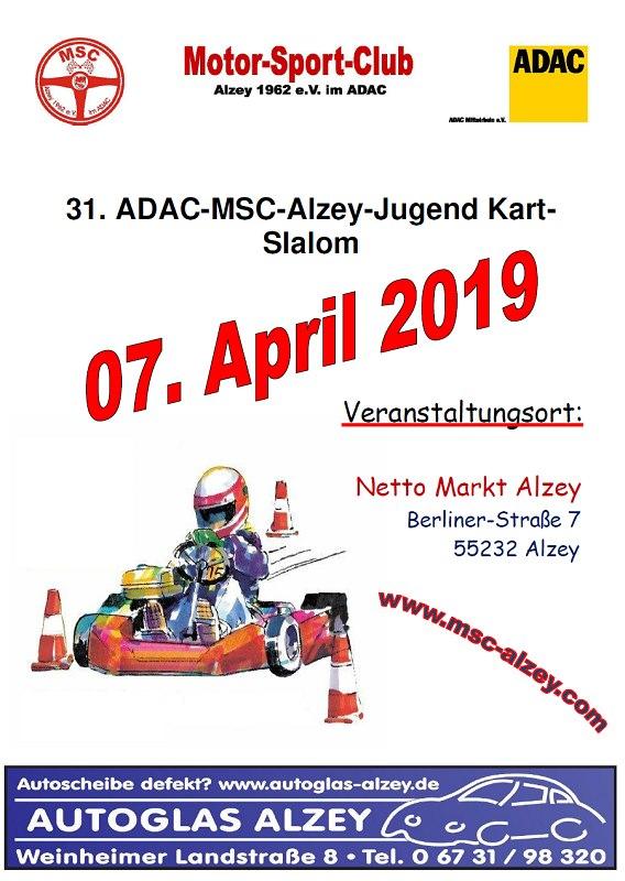 MSC Alzey Kart Slalom 2019